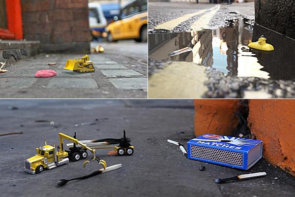 Что может произойти с мусором на улицах, пока никто не видит.