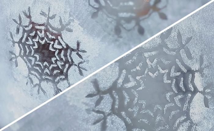 Самое простое новогоднее украшение, которое можно сделать подручными средствами.