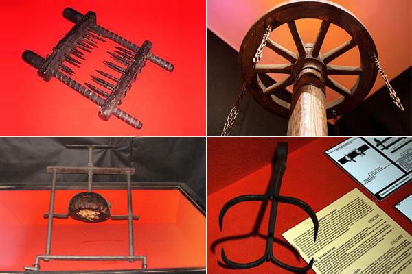 10 самых ужасных средневековых орудий пыток.
