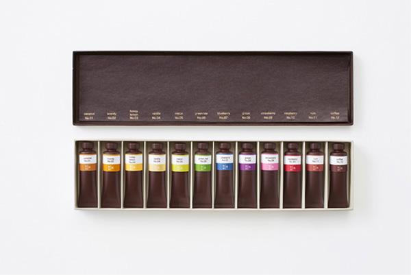 Весь спектр вкусов в одной коробке.