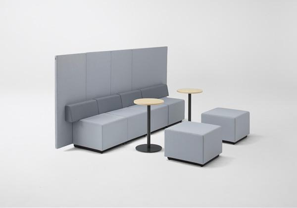 Офисное решение пространства от японских дизайнеров.