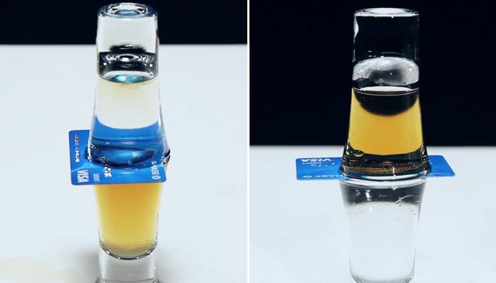 8 простых трюков с водой.