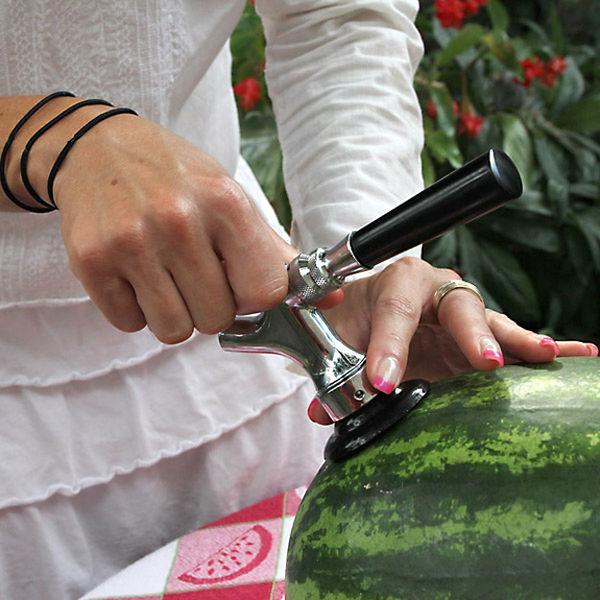Установка системы Watermelon Tap Kit доступна каждому.