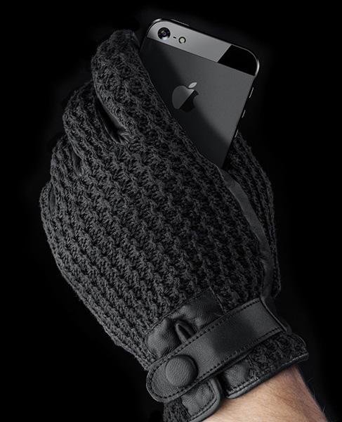 Модные зимние перчатки от голландцев.