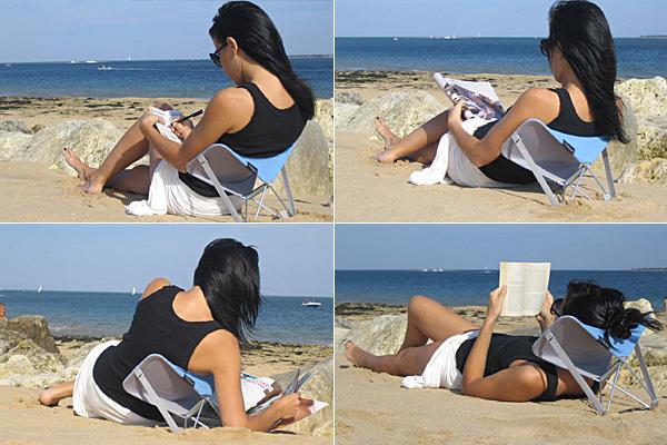 Стул Y-ply -  надежное сидение, спинка и даже подушка.