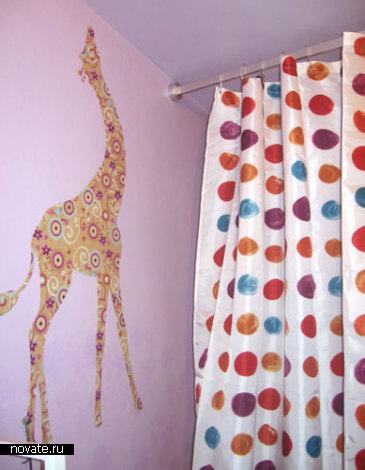 Наклейка Жираф