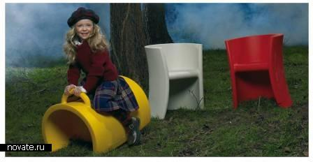 Trioli - детский стул качалка от Magis