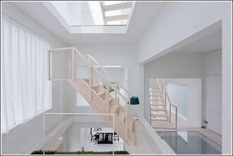 House H - аскетичный дом от японских архитекторов