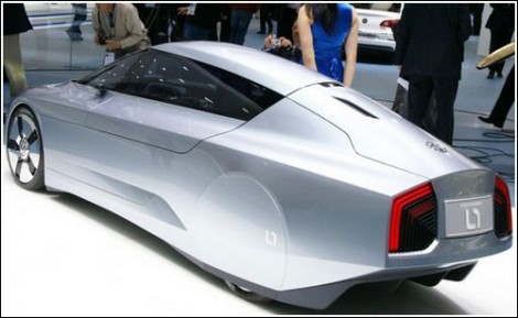 Концепт L1 от Volkswagen