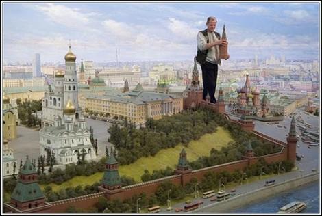 Мини-копия Москвы
