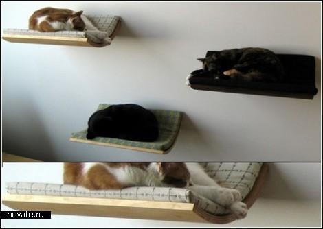Подвесное спальное место для кошек