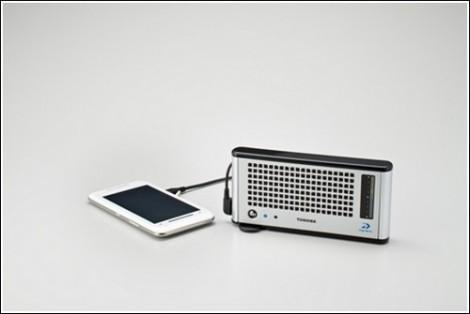 Зарядное устройство Dynario от Toshiba
