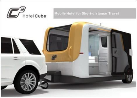 Экологичный  трейлер C3 Hotel Cube