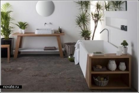 Интерьеры ванной комнаты от Omvivo
