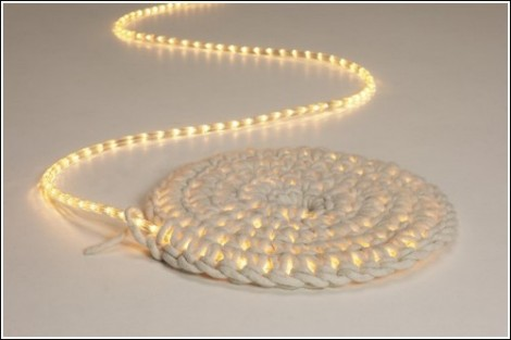 Светящийся ковёр от Imu Design