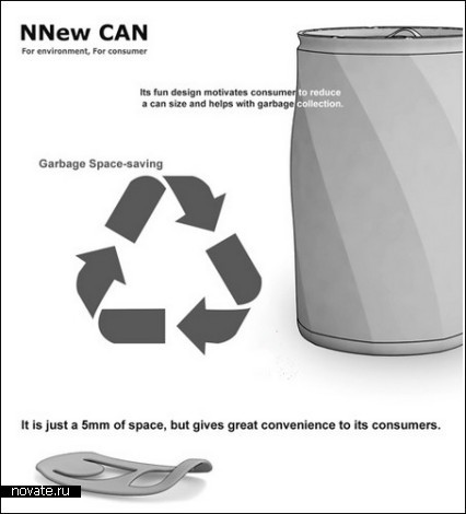 Новая алюминиевая банка NNew Can