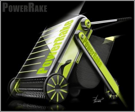 устройство для сбора листьев PowerRake