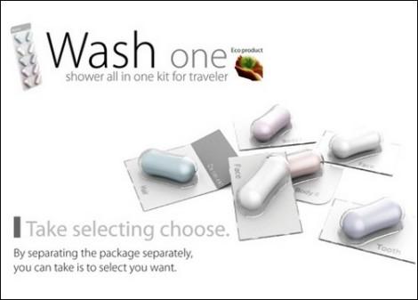 Средства гигиены в таблетках Wash One