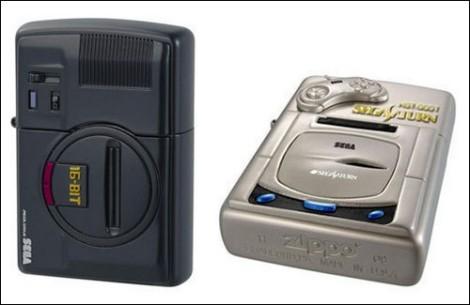 Зажигалки Zippo в виде игровых приставок