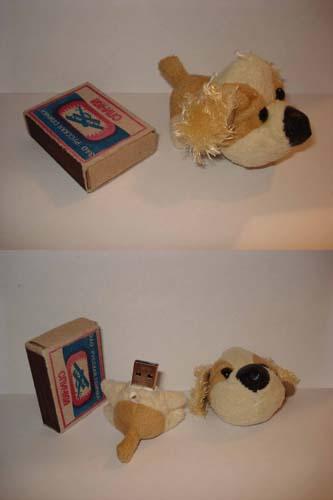 флешка-собачка