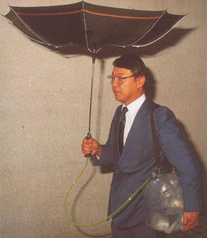 портативный сборщик дождевой воды