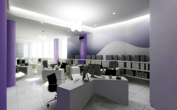 дизайн интерьера офиса IT Pro