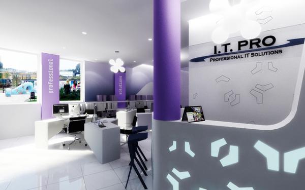 дизайн современного офиса в Киеве
