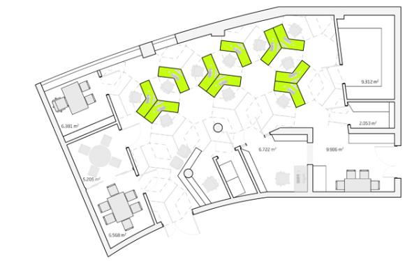 тасселяция плоскости в дизайне интерьеров