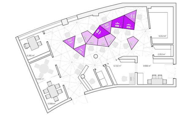 алгоритмический дизайн на примере интерьера офиса