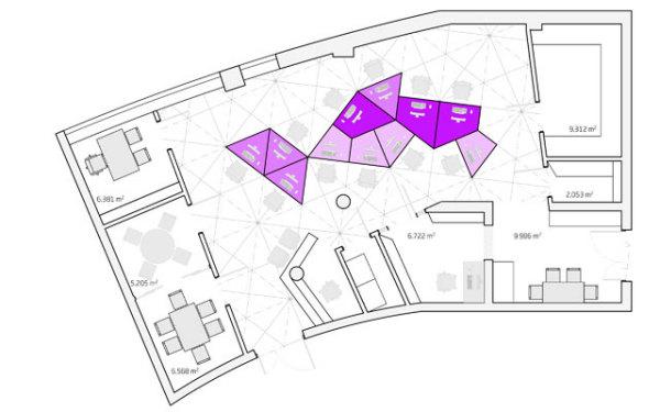 современная планировка рабочей зоны