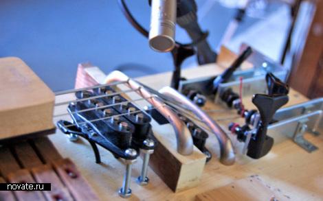 Bassoforte - музыкальный инструмент собранный из старых частей