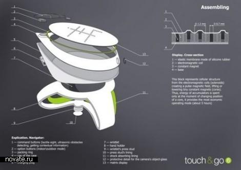 Навигатор для слепых Touch & Go