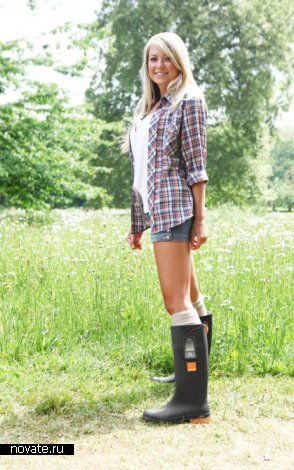 Термо-электрические сапоги фирмы Orange для зарядки телефона