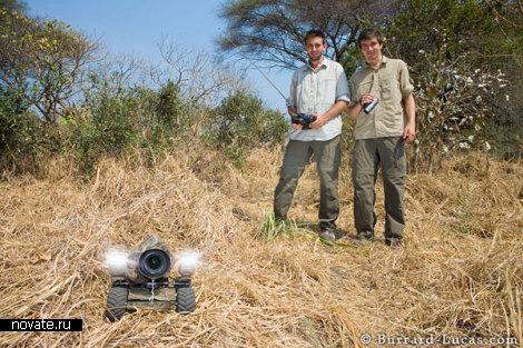 BeetleCam фотоаппарат на колесах