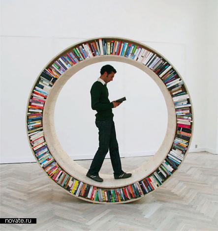 Книжные инсталляции от David Garcia