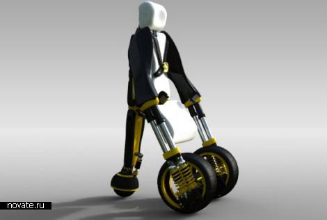 Инвалидная коляска будущего Modiv