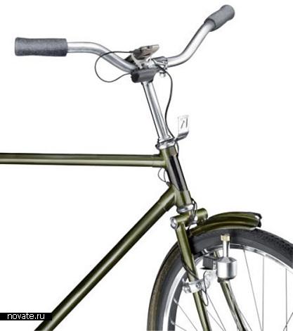Телефонное зарядное устройство на велосипеде