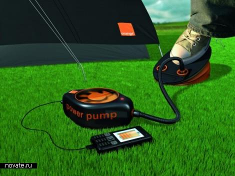 Беспроводное зарядное устройство Power Pump