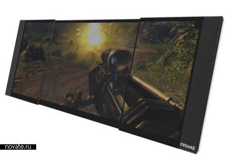 Игровой ноутбук Prime с раздвигающимся дисплеем