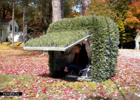 Terrestrial Shrub Rover - куст на колесиках