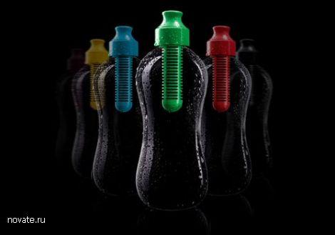 Бутылка со встроенным фильтром