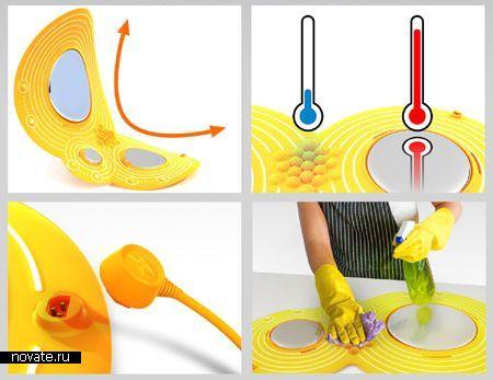 Портативная кухонная плита Cooka