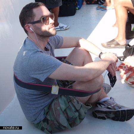 ремень, помогающий сидеть Chairless