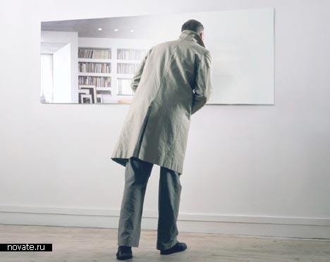 Неотражающее зеркало Oliver Sidet