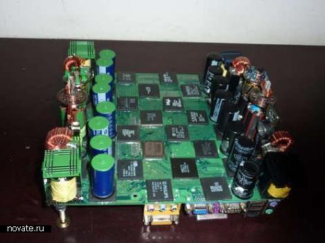 Шахматы из внутренностей компьютера