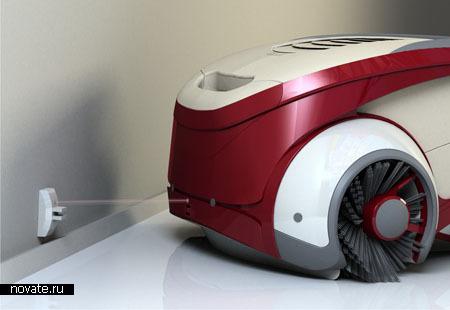 Робот Harvester - помощник в уборке