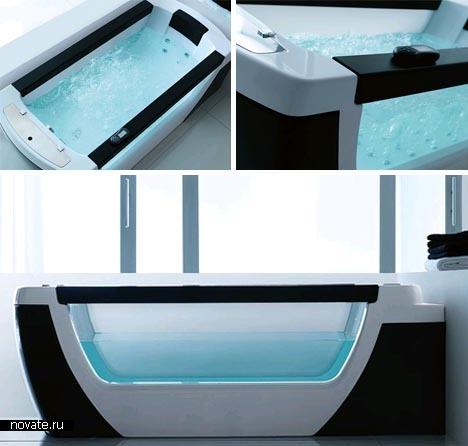 Прозрачная ванная от Gruppo