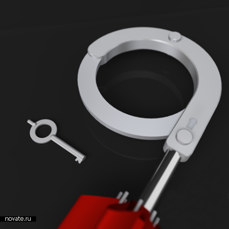 Зонт с наручником