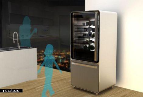 Холодильник, предлагающий рецепты