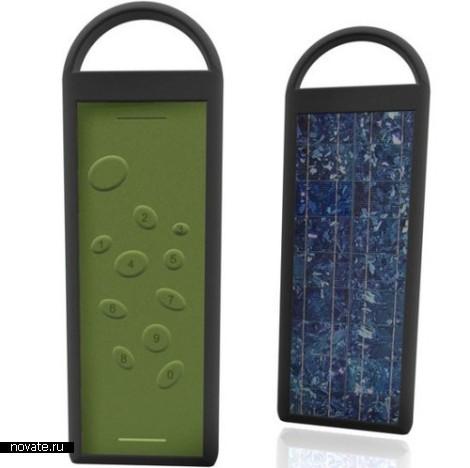 SoleCall мобильный телефон на солнечной батарее